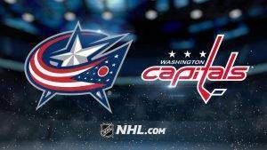 blue jackets vs washington capitals