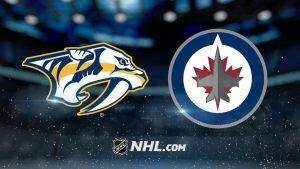 nashville predators vs winnipeg jets