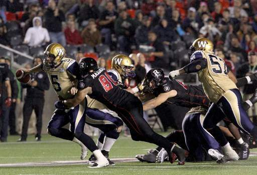 Winnipeg Blue Bombers v Ottawa RedBlacks