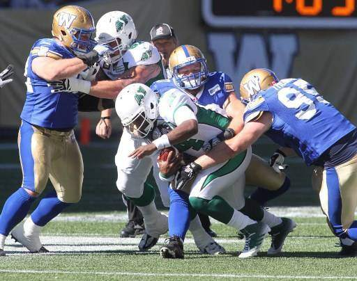 Saskatchewan Roughriders v Winnipeg Blue Bombers