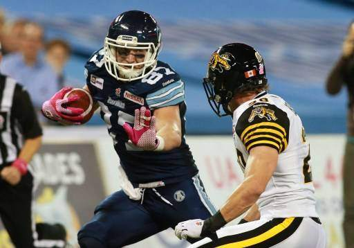Tiger-Cats v Argonauts