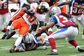 Division Semifinals - BC Lions v Montreal Alouettes