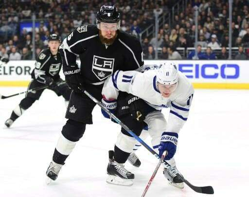 Toronto Maple Leafs v Los Angeles Kings
