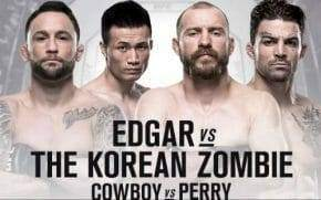 Frankie Edgar Vs Korean Zombie Odds and Betting Preview
