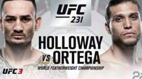 Max Holloway VS Brian Ortega Odds and Betting Preview