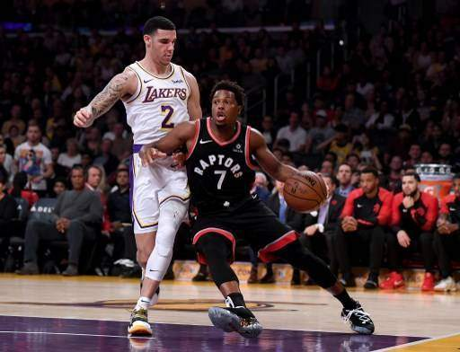Toronto Raptors v Los Angeles Lakers