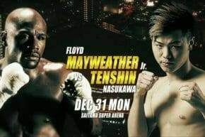 Floyd Mayweather vs Tenshin Nasukawa Betting Odds
