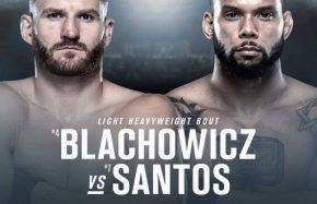 Jan Blachowicz vs Thiago Santos Odds and Betting Prediction
