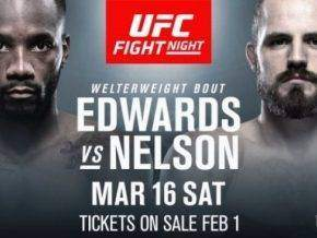 Leon Edwards vs Gunnar Nelson