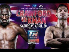 Amir Khan vs Terence Crawford Prediction & Betting Odds