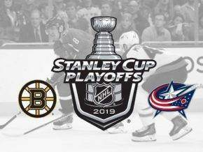 Boston Bruins vs Columbus blue jackets odds