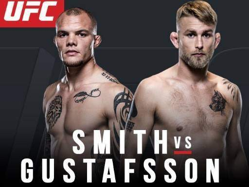 Alexander Gustafsson vs Anthony Smith