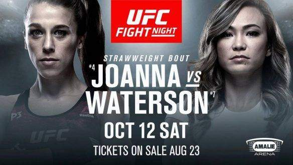 Joanna Jedrzejczyk vs Michelle Waterson Prediction & Betting Odds - UFC Preview