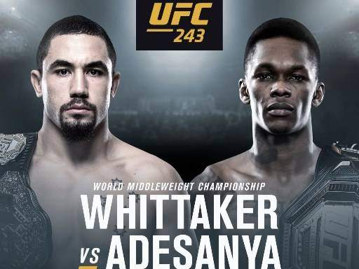 Robert Whittaker vs Israel Adesanya Prediction