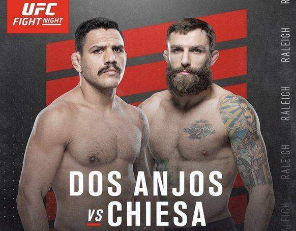 Rafael dos Anjos vs Michael Chiesa Predictions & Betting Odds - UFC Picks