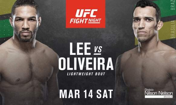 Kevin Lee vs Charles Oliveira Predictions & Betting Odds - UFC Fight Night 170 Preview
